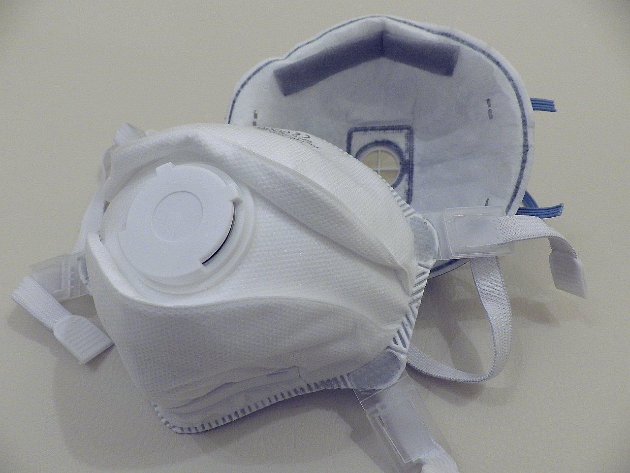Légzésvédő maszk, félálarc (fotó: VBEdgar)