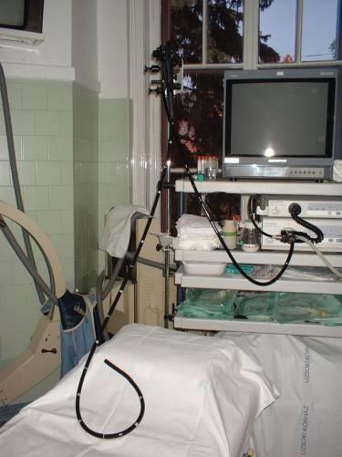 Gasztroenterológiai endoszkópos állomás