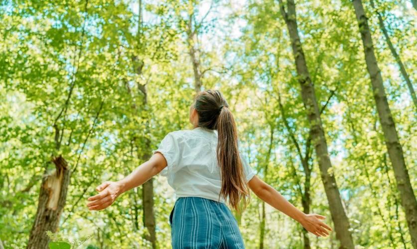 Erdőben, friss levegőn
