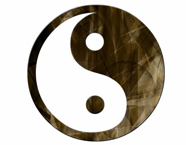 Jin és Jang szimbólum